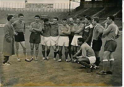 Equipe de France de Football 1956 - Stade Colombes France-Hongrie - PR 20
