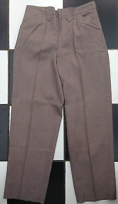 Original 1950s Saddle Sturdy Western Pants Trousers Fleck Rockabilly