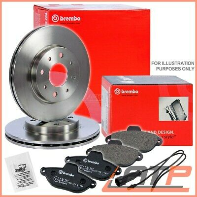 Fiat 500 1.4 Abarth Abarth 187 Drivetec Front Brake Pads 284mm For Vented Discs