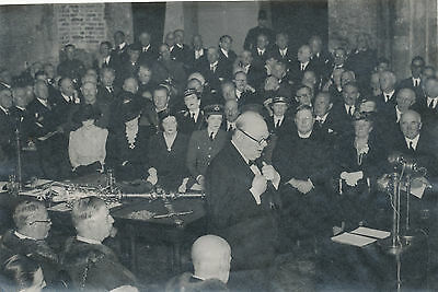 WWII 1943 Churchill receives Freedom of the City 4x6 photo