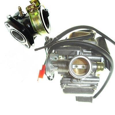 Chinese Carburetor & Intake Howhit Gy6 125 150 Atv Scooter Go Kart Lifan Carb