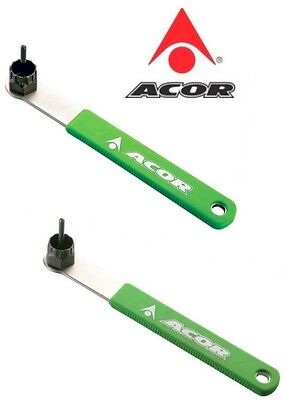 Acor Shimano /Compagnolo Bicycle Bike Cassette Lockring Remover Tool Steel
