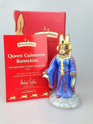 Royal Doulton - Bunnykins Figure Queen guinevere Db302 Boxed