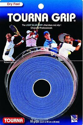 TOURNA OVER GRIP Original Tour 10 Pack - tennis badminton squash racquet grip