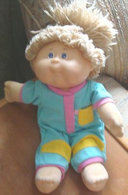 Cabbage Patch Kid- Toddler-  by Hasbro* 1988 * Blue Eyes, Blond Hair