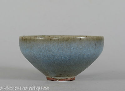 Antique Chinese Jun Glaze Tea Bowl Song?/Jin? Dynasty