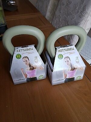 2 x Kettlebell Weight Fitness Training Weight Home Gym Weight 2.5kg Special Offe
