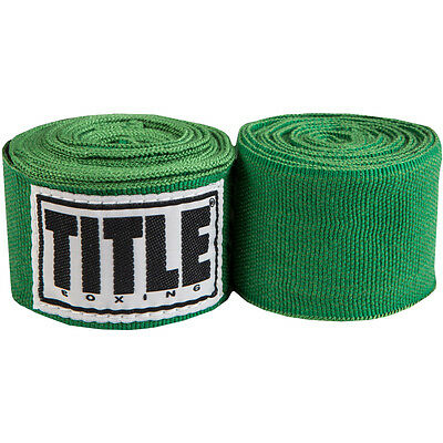 Title Boxing Mexican Style Junior Handwraps - Green