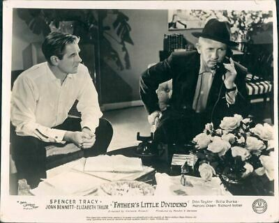 Father's Little Dividend Lobby Card Spencer Tracy 1951