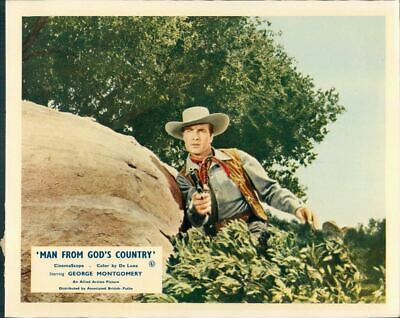 Man From God's Country George Montgomery Lobby Card #8