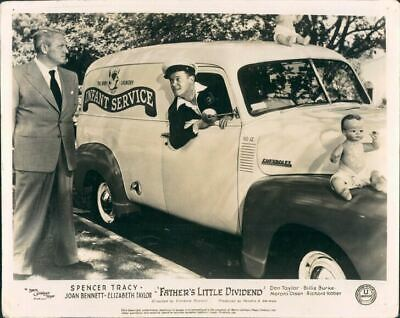 Father's Little Dividend Spencer Tracy Orig Lobby Card