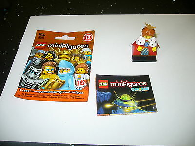 Lego Mini Figurine Series 15 Queen Complete With Foil Packet & Leaflet