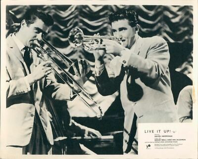 Live It Up Kenny Ball And His Jazzmen Lobby Card Rare