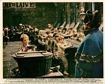 Oliver! Original Lobby Card Mark Lester Harry Secombe