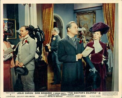 The Doctor's Dilemma Leslie Caron John Robinson Original Lobby Card #2