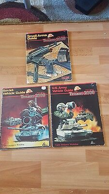 Twilight 2000 Game Designers  3 Module Lot Small Arms Soviet Us Vehicle Guide