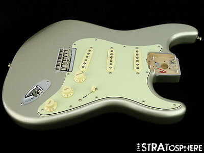 2017 Fender Robert Cray Hardtail Stratocaster LOADED BODY Strat Inca Silver