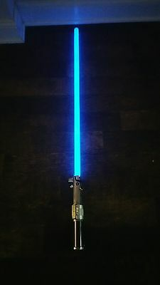Star Wars Master Replicas Jedi Blue Lightsaber Lucasfilm Ltd 2005