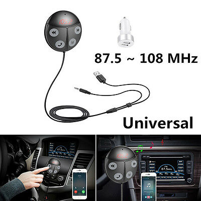 New Wireless Bluetooth FM Transmitter Handsfree Car Kit MP3 Player USB Charger