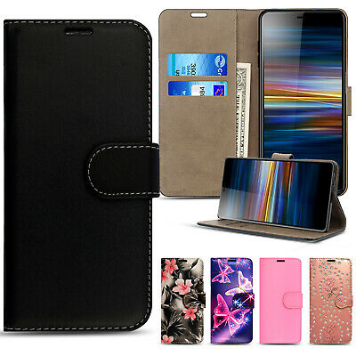 For Sony Xperia L3 Flip Book Cover Case Wallet PU Leather Phone Card Slot