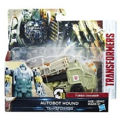 New Transformers The Last Knight 1-Step Turbo Changer Autobot Hound C1314