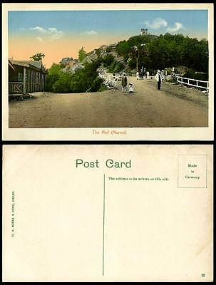 Pakistan Old Colour Postcard THE MALL MURREE HILL Street Scene Little Girl India