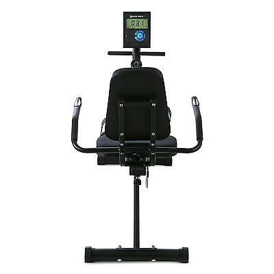 Cardio Fitness Fahrrad Indoor Training Bike Display Sitz Gelenkschonend Schwarz