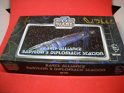 Babylon 5: Wars: Earth Alliance: Babylon 5 Diplomatic Station box set: Complete