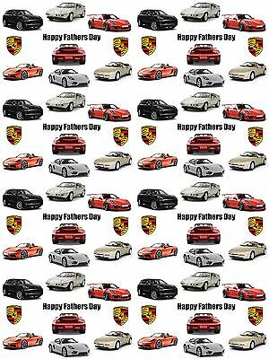 Porsche Personalised Fathers Day Gift Wrapping Paper ADD NAME AND/OR MESSAGE
