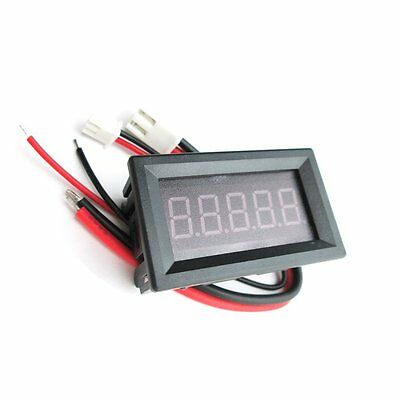 "High Precision 0.36"" LED Tube 5 Bit Digital Ammeter Current Meter DC0-3.0000A Re"