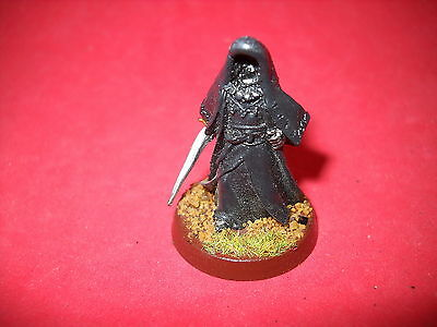 LOTR: Lord of the Rings: metal painted Ringwraith f