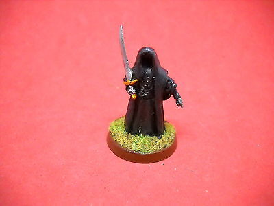 LOTR: Lord of the Rings: metal painted Ringwraith g