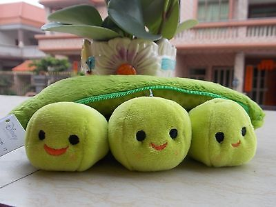 """New 9"""" Disney Store Toy Story Bean Bag Peas in a Pod Plush Toy"""