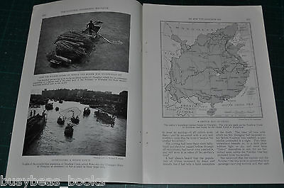 1927 magazine article HOUSEBOAT excursion on the SOOCHOW HO,  China
