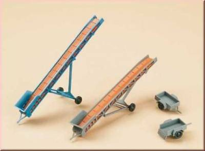 43650 Auhagen Set Belts And Accessories X The Load Goods