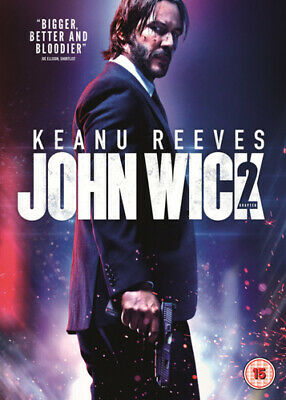 John Wick: Chapter 2 DVD (2017) Keanu Reeves ***NEW***