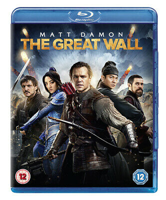 The Great Wall DVD (2017) Matt Damon, Zhang (DIR) cert 12 ***NEW*** Great Value