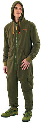 TF Gear NEW Chill Out Thermal Lined Warm Carp Fishing All in One Suit - Free P+P