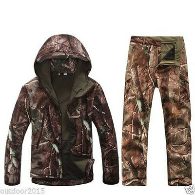 2017 Tactical Camouflage Hunting Clothing TAD Gear Jacket Pants Ghillie Suit