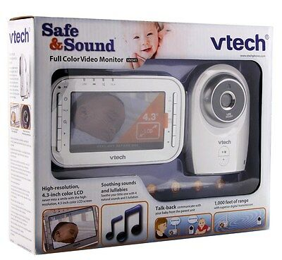 Vtech Safe & Sound Full Color Video Monitor VM341
