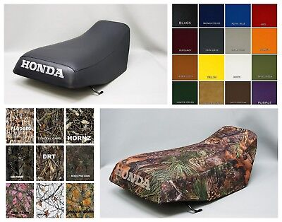HONDA TRX250 RECON Seat Cover 2005 2006 2007 2008 2009  in 25 COLORS     (ST)