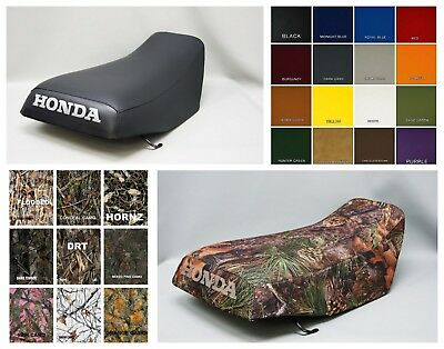 HONDA TRX250 RECON Seat Cover 2005-2014  in PINE CAMO or 7 CAMO OPTIONS ST
