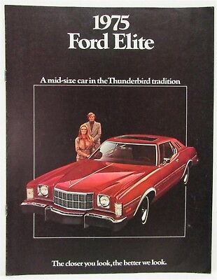 1975 Ford Elite Sales Brochure
