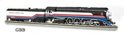HO Scale AMERICAN FREEDOM TRAIN 4-8-4 DCC & SOUND GS4 Locomotive New 53103