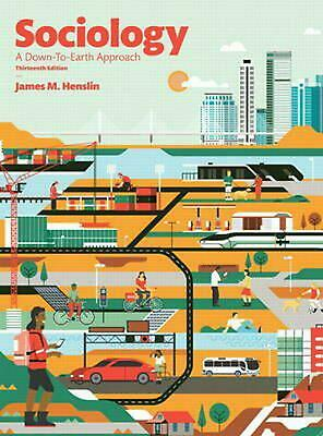 Sociology: A Down-to-Earth Approach by James M. Henslin (English) Paperback Book