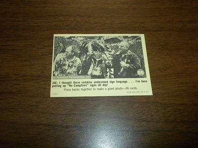 THE THREE STOOGES trading card #55 Fleer 1966 black and white U.S.A.