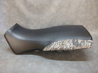 Polaris Magnum 325 Seat Cover 1999 - 2002  in 2-TONE BLACK & TIMBER CAMO (rear)