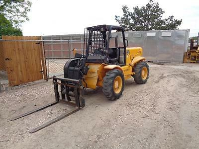 Jcb 520 Shooter Boom Man Lift Loadall Perkins Diesel Fork Lift 18 Foot Boom