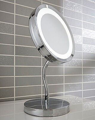 Led Standing Cosmetic Mirror