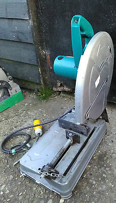 "Makita 2414NB 14"" Metal Cut Off Saw Cutting Chop Saw 110V  2011 £110 +vat"